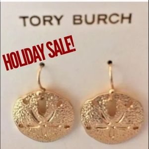 6fec316229c4 Available Hand Stamped Bracelets New without Tags Tory Burch Sand Dollar  Earrings ...